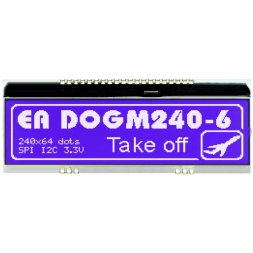 EA DOGM240B-6 ELECTRONIC ASSEMBLY