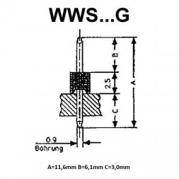 WWS 10 G VARIOUS PIN Headers
