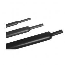 ZB254/4M/BK 4m ETTINGER Heat Shrink Tubing 2:1 D25,4/12,7mm, Polyolefin, Black