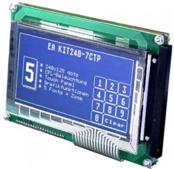 EA KIT240-7LWTP ELECTRONIC ASSEMBLY