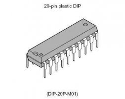 AT 89 C 2051-24PU MICROCHIP (ATMEL)