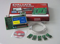 EA EVALeDIPTFT32 ELECTRONIC ASSEMBLY