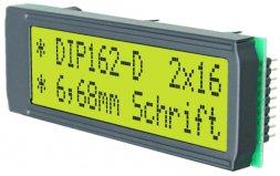 EA DIP162-DNLED ELECTRONIC ASSEMBLY