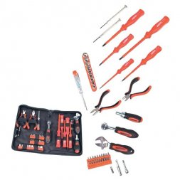 Electronic Tool Set Bag 45pcs VARIOUS