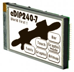 EA eDIP240J-7LWTP ELECTRONIC ASSEMBLY