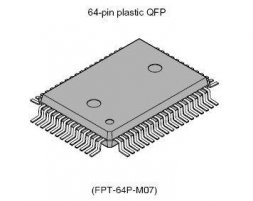 AT MEGA 128L-8AU MICROCHIP (ATMEL)