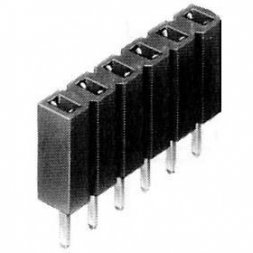 BL 1/30/Z FISCHER ELEKTRONIK Female Headers, Jumpers