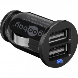Dual USB Car Charger 2,1A VARIOUS