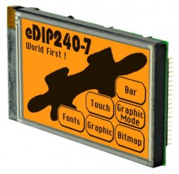 EA eDIP240J-7LA ELECTRONIC ASSEMBLY