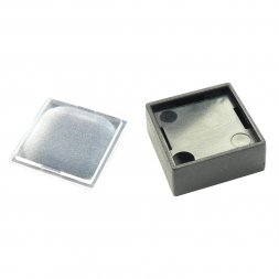 835.900.013 MARQUARDT Square Key Cap 16x16 Anthracite/Transparent