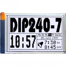 EA DIP240J-7KLW ELECTRONIC ASSEMBLY