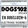 EA DOGS102N-6 ELECTRONIC ASSEMBLY