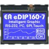 EA eDIP160B-7LW ELECTRONIC ASSEMBLY