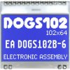 EA DOGS102B-6 ELECTRONIC ASSEMBLY