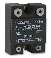CN024D05  Solid State Relays PCB Mount 24VDC 3.5A,5VDCinput 6mm SIP SSR