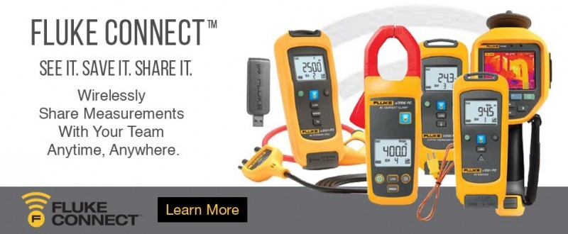 Fluke Connect – Display, Save and Share