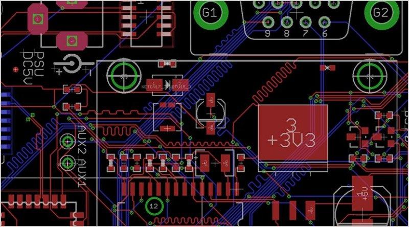 Autodesk Eagle Pcb Software Philips Lumileds Sos Electronic
