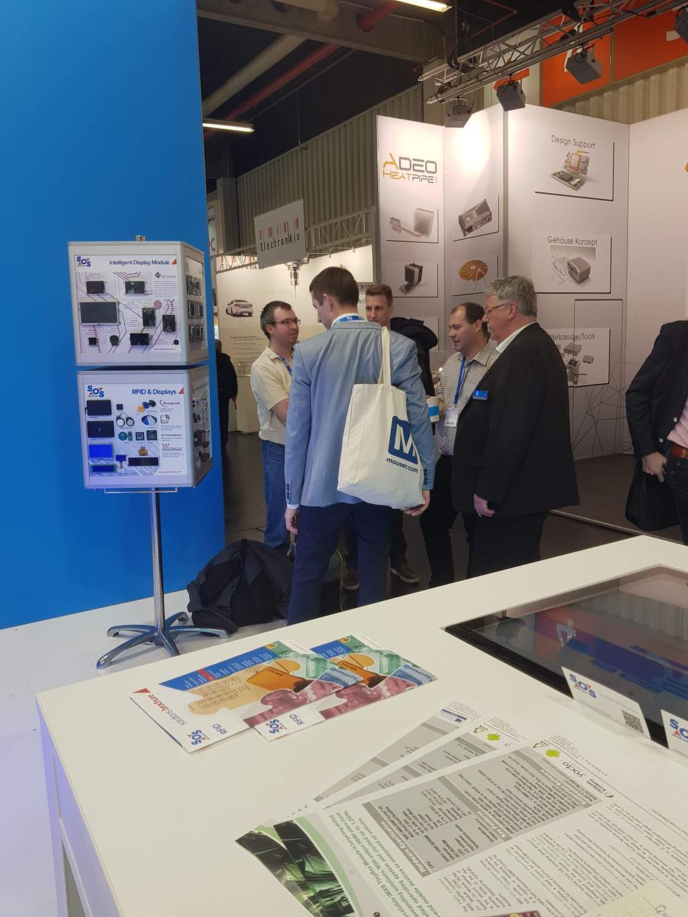 SOS electronic on Embedded world 2019 trade fair