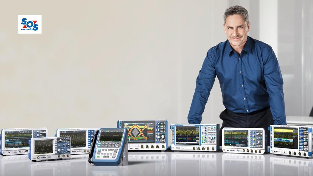 Win Rohde and Schwarz Oscilloscope