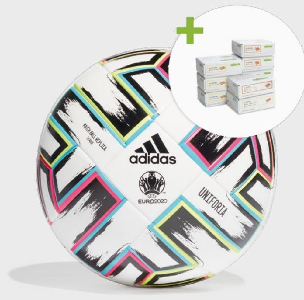 Get Adidas soccer ball with set of Wago splicing connectors