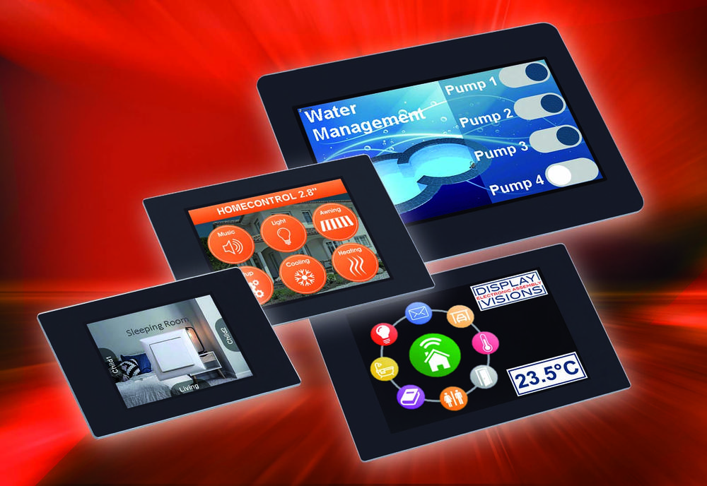 User-friendly smart displays in miniature size
