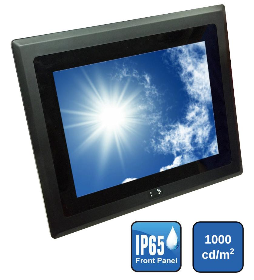 "10.4"" Panel PC with High Brightness Display"
