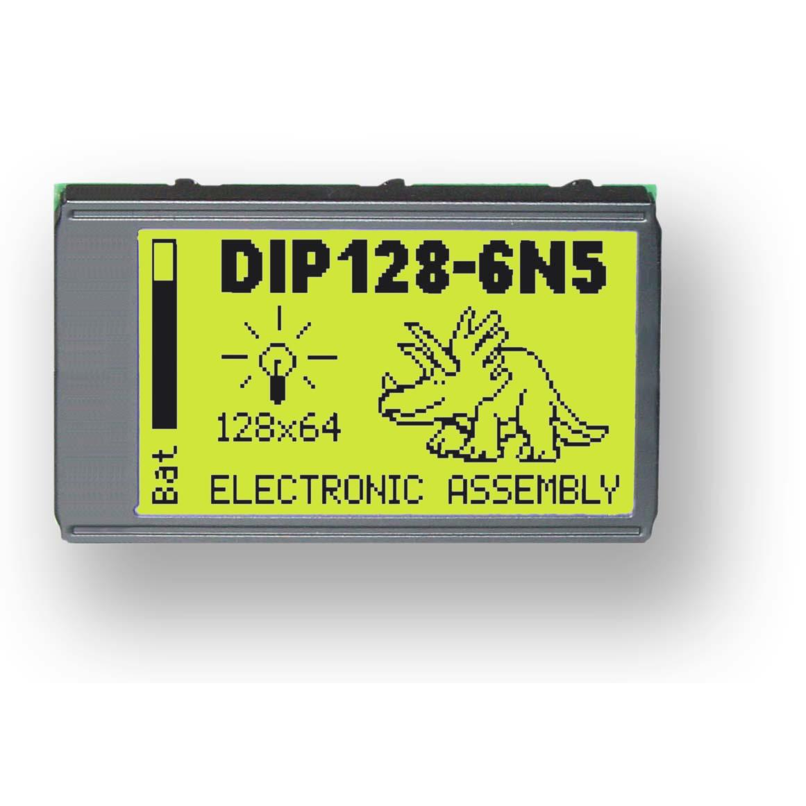 EA DIP128J-6N5LETP ELECTRONIC ASSEMBLY