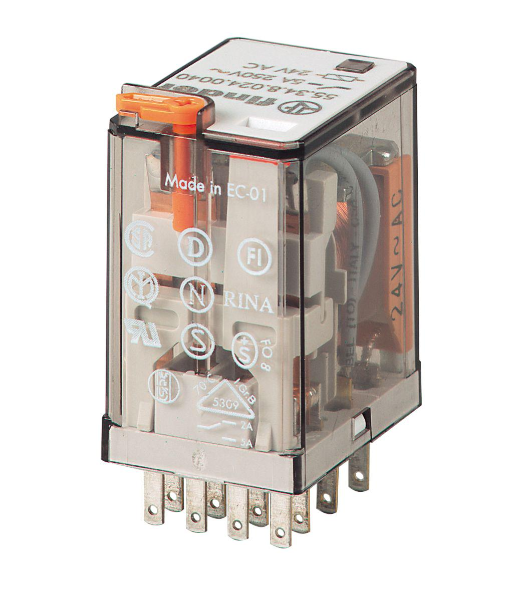 553482300040 Finder Sos Electronic Terminal Relay