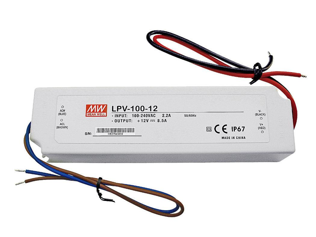 Lpv 100 12 Meanwell Sos Electronic China Nonisolated Buck Circuit T8 Led Driver Manufacturer Supplier