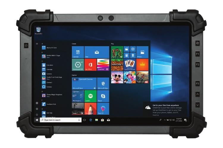 Rtc 1010 R1002 Aaeon Rugged Tablet